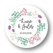 My own printable design, macaron des mariés à imprimer, collection printemps violet