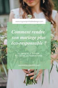 Comment rendre son mariage plus éco-responsable ? 10 objets à éviter et leurs alternatives