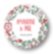 My own printable dsign, macaron des mariés, collection liberty rouge