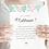 Thumbnail: Carte marraine - Collection printemps - Fichier numérique