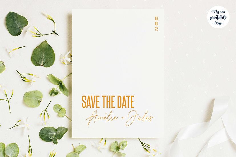 Save the date - Collection modernité - Fichier numérique