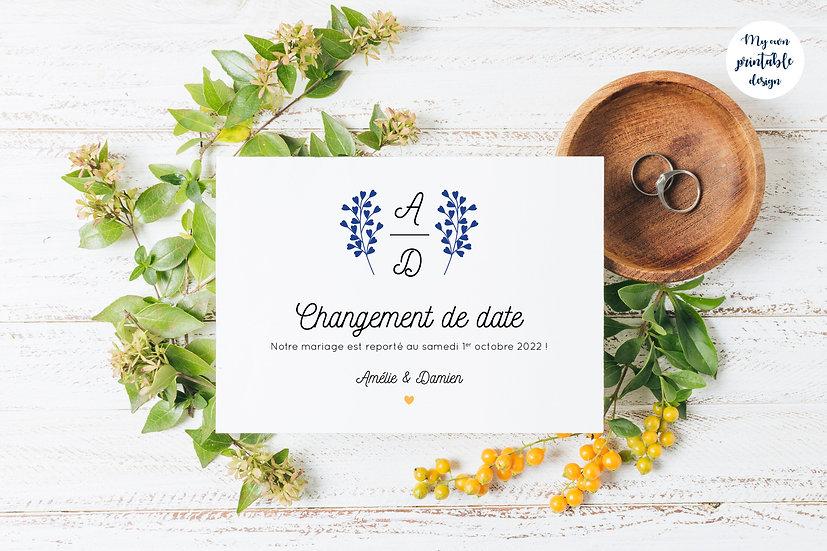 Change the date - Collection éternité - Fichier numérique