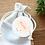 Thumbnail: Etiquette Merci rose - Collection Nuage - Fichier numérique