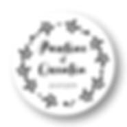 My own printable design, macaron des mariés à imprimer, collection monochrome noir