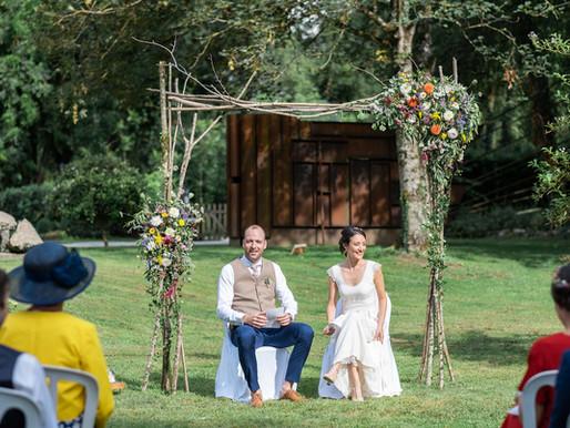 Le mariage zéro déchet de L&Y : témoignage et idées