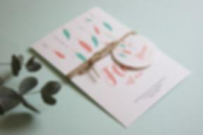 faire-part naissance à imprimer plume, attrape-rêve, modèle fille et garçon, My oqn printable design