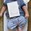 Thumbnail: 17 cartes étapes bébé - Collection Nuage bleu - Fichier numérique