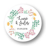 My own printable design, macaron des mariés à imprimer, collection printemps jaune