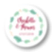 My own printable design, macaron des mariés à imprimer, collection feuillage bordeaux