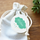 Thumbnail: Etiquette Merci vert - Collection Nuage - Fichier numérique
