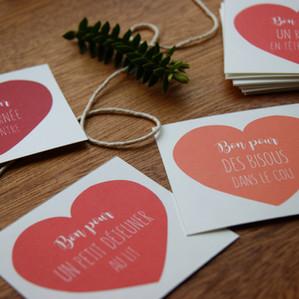 """DIY : cadeau immatériel, 24 """"Bons pour"""" à imprimer chez vous"""