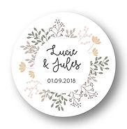 My own printable design, macaron des mariés à imprimer, collection printemps beige