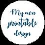 My own printable design - faire part mariage a imprimer