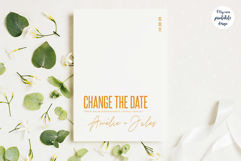 Change the date - Collection modernité - Fichier numérique