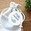 Thumbnail: Etiquette merci bleu - Collection Baleine - Fichier numérique
