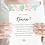 Thumbnail: Carte témoin (femme) - Collection printemps - Fichier numérique