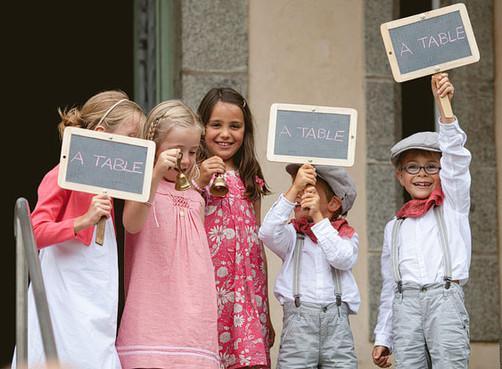 15 idées pour occuper et divertir les enfants le jour de votre mariage