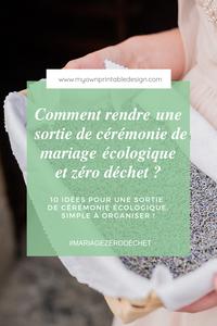 Par quoi remplacer le lancer de riz pour une sortie de cérémonie réussie ? 10 idées pour une sortie de cérémonie écologique, simple à organiser