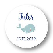 My own printable design, macaron des bébés à imprimer, collection baleine