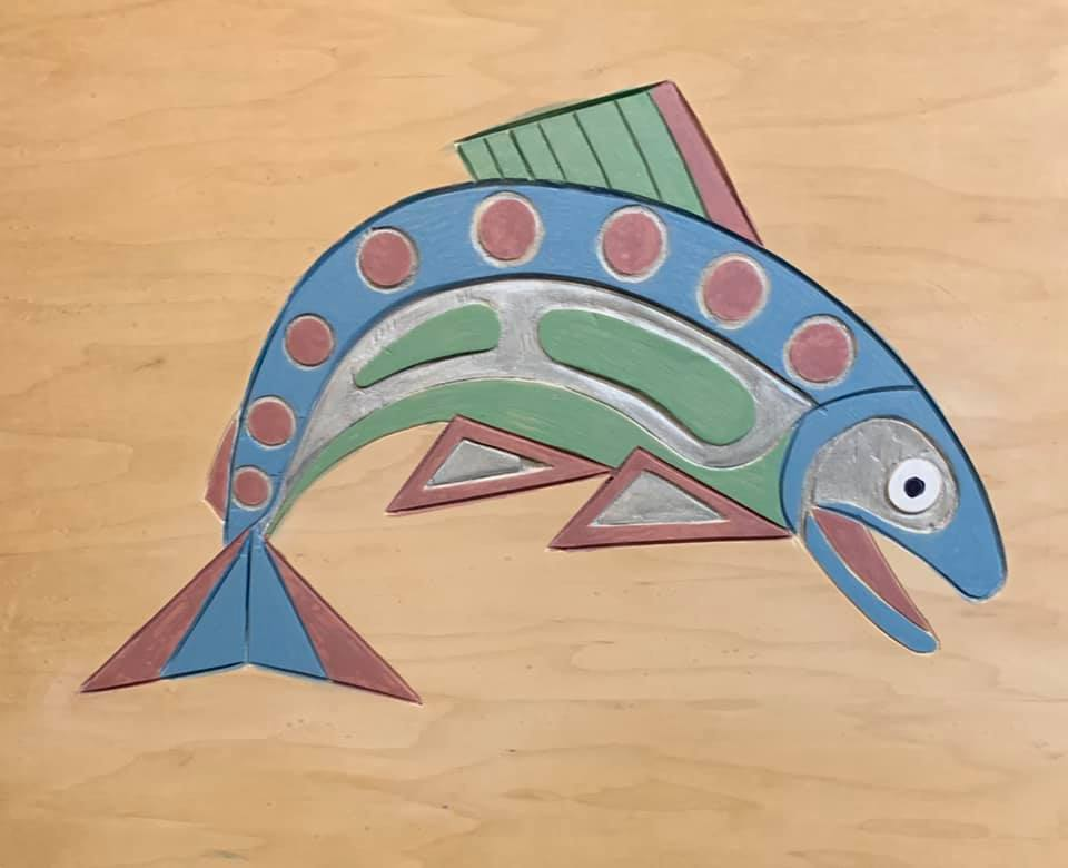 Blue Salmon