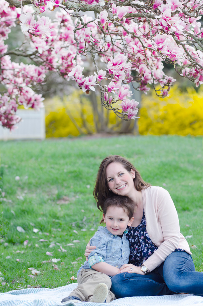 Spring Session at Bayne Park   New Jersey Family Photographer