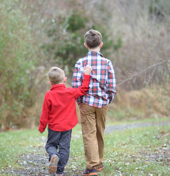 BROTHERLY LOVE | New Jersey Family Photography