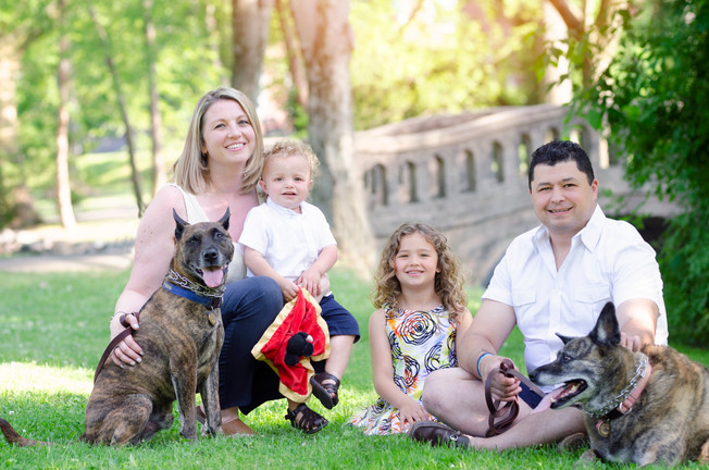 Spring Session in Westfield | New Jersey Family Photographer
