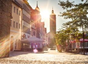Die Johannisstraße in Jena