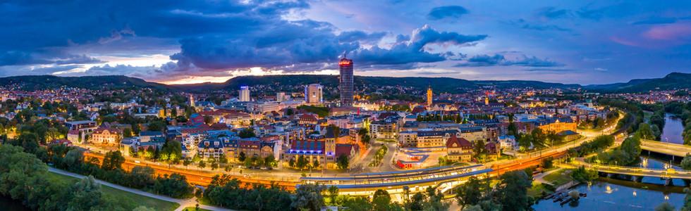 Panorama Bild Lichtstadt Jena