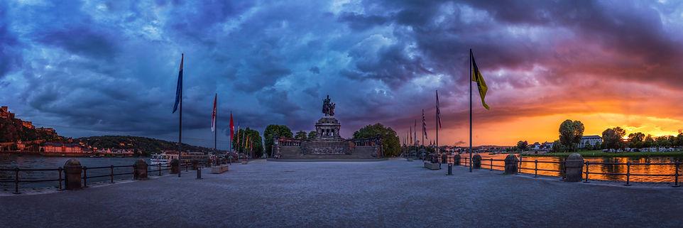 Koblenz Panorama Bilder Kalender Fotogra
