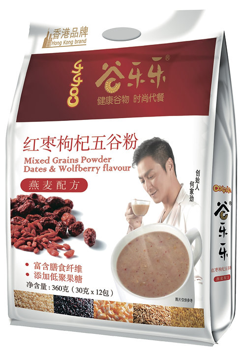 Multigrain Cereal Red Dates & Wolfberry Powder (360g)