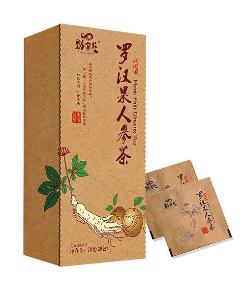 羅漢果人參茶 (70g)