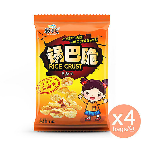 鍋巴脆 (香辣味) x 4