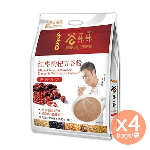 紅棗枸杞五谷粉 x 4