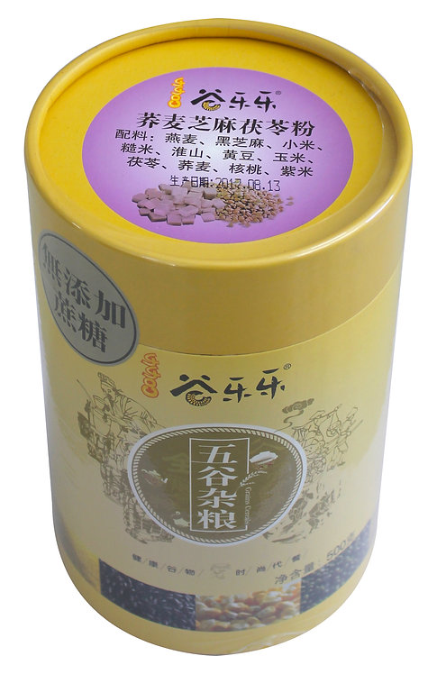 蕎麥芝麻茯苓粉 (500g)