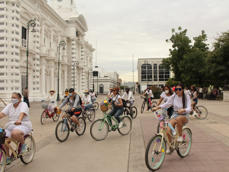 Rodada de primavera de Mujeres en Bici HMO es con causa