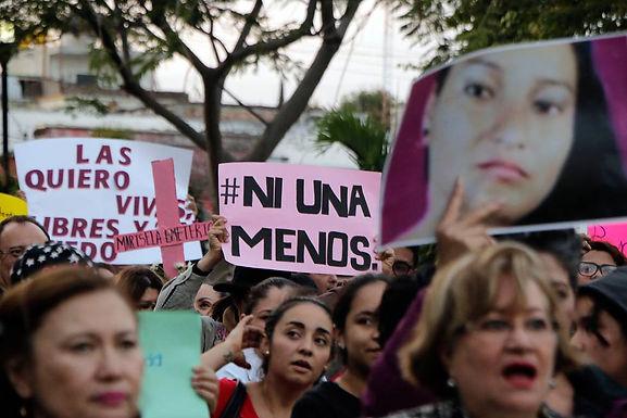Feminicidio es una de las mayores deudas del Gobierno