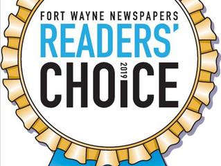 Fort Wayne Newspapers Reader's Choice Winner