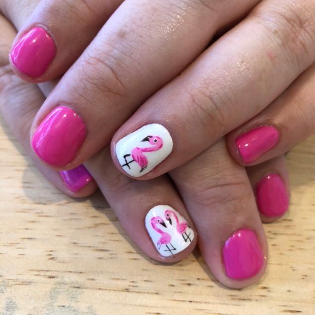 nails Pink Flamingo.JPG
