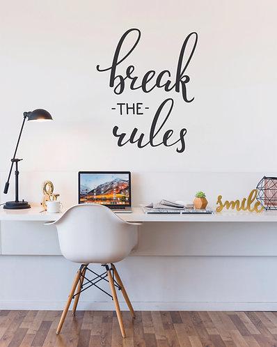 Vinilo Break The Rules