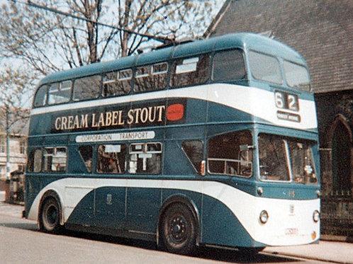 MBF2K-08 - 1954 Roe Sunbeam MF2B Hull Coronation Trolleybus