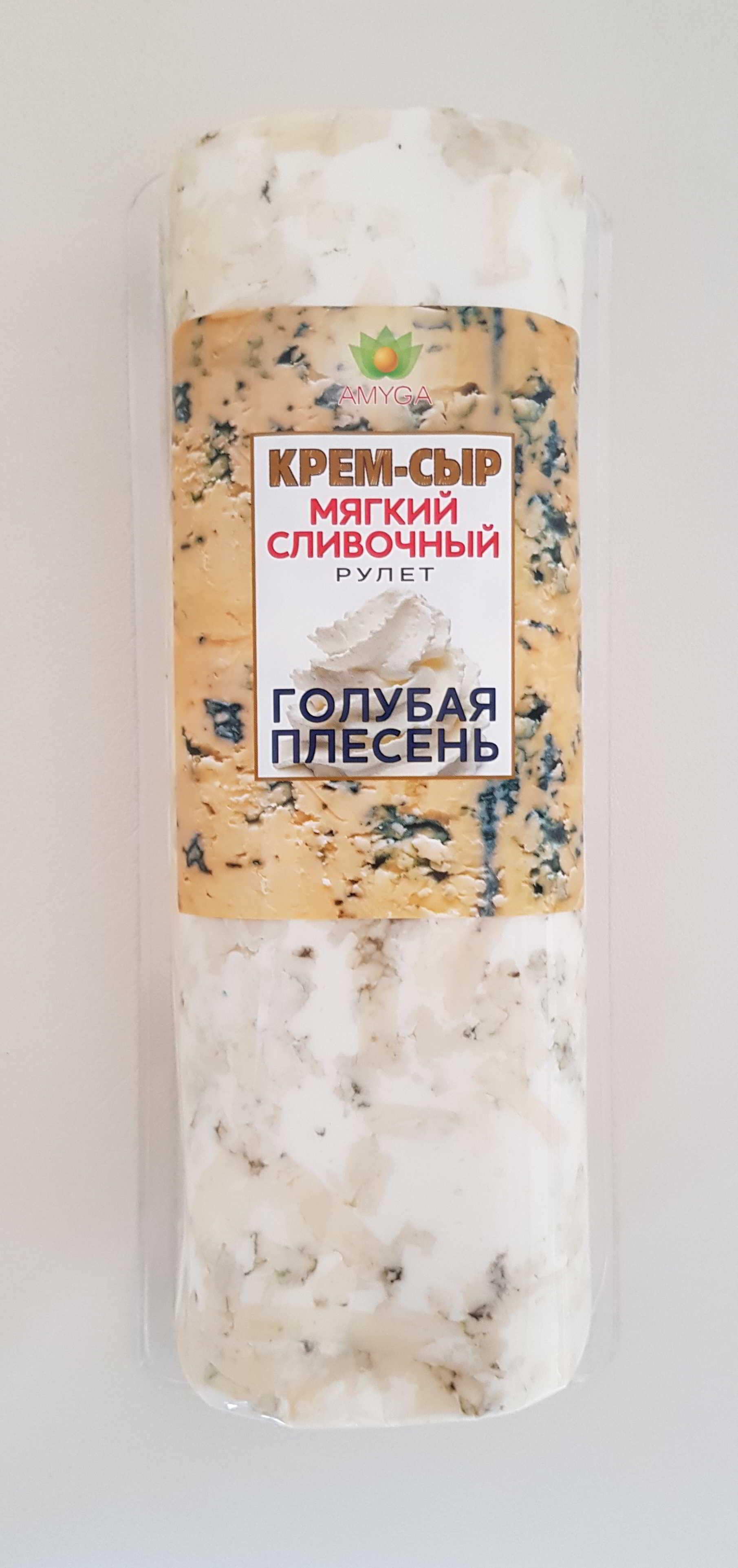 """ыр мягкий сливочный """"ГОЛУБАЯ ПЛЕСЕНЬ"""" 500г"""