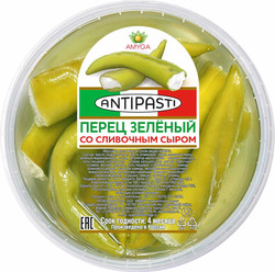Перец зеленый  со сливочным сыром 250г