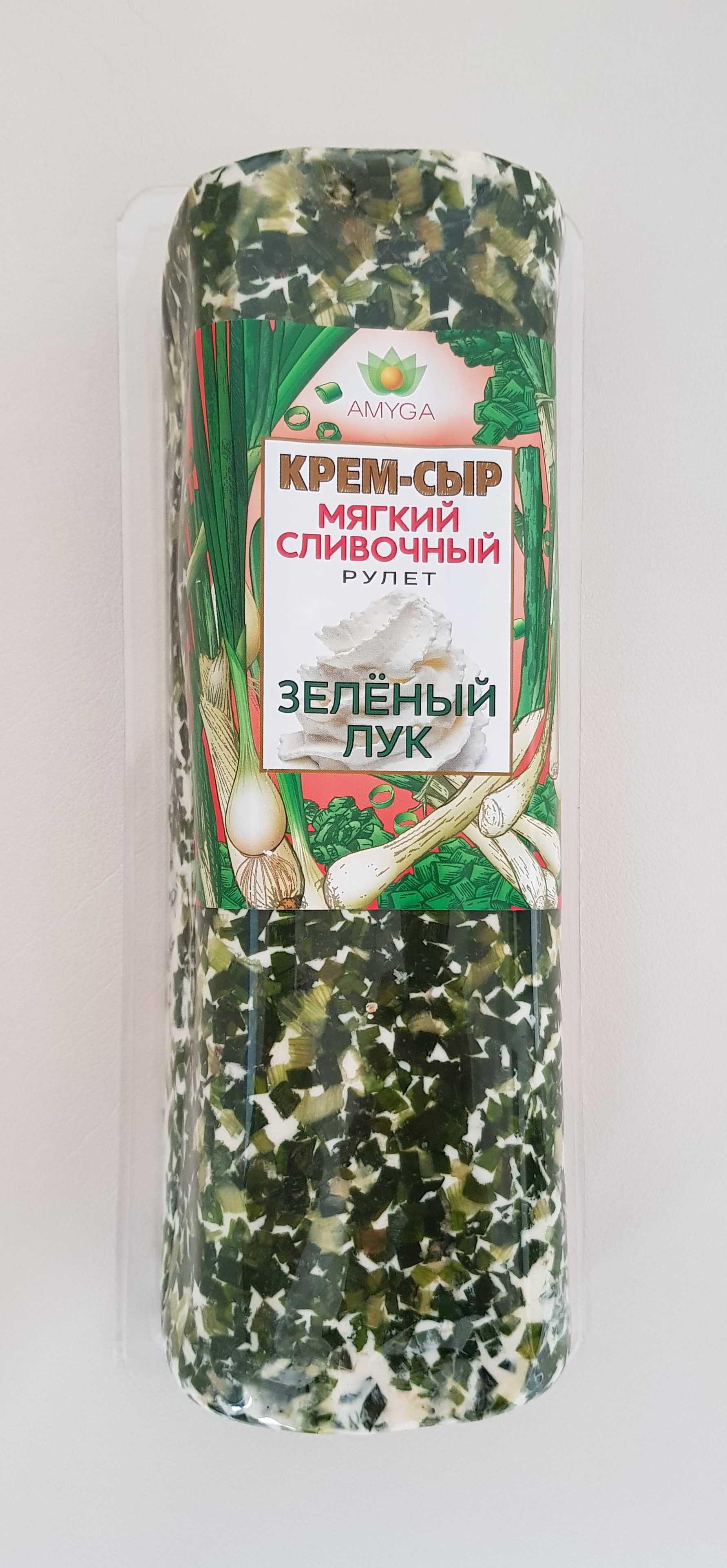 """Сыр мягкий сливочный """"ЗЕЛЕНЫЙ ЛУК"""" 500г"""