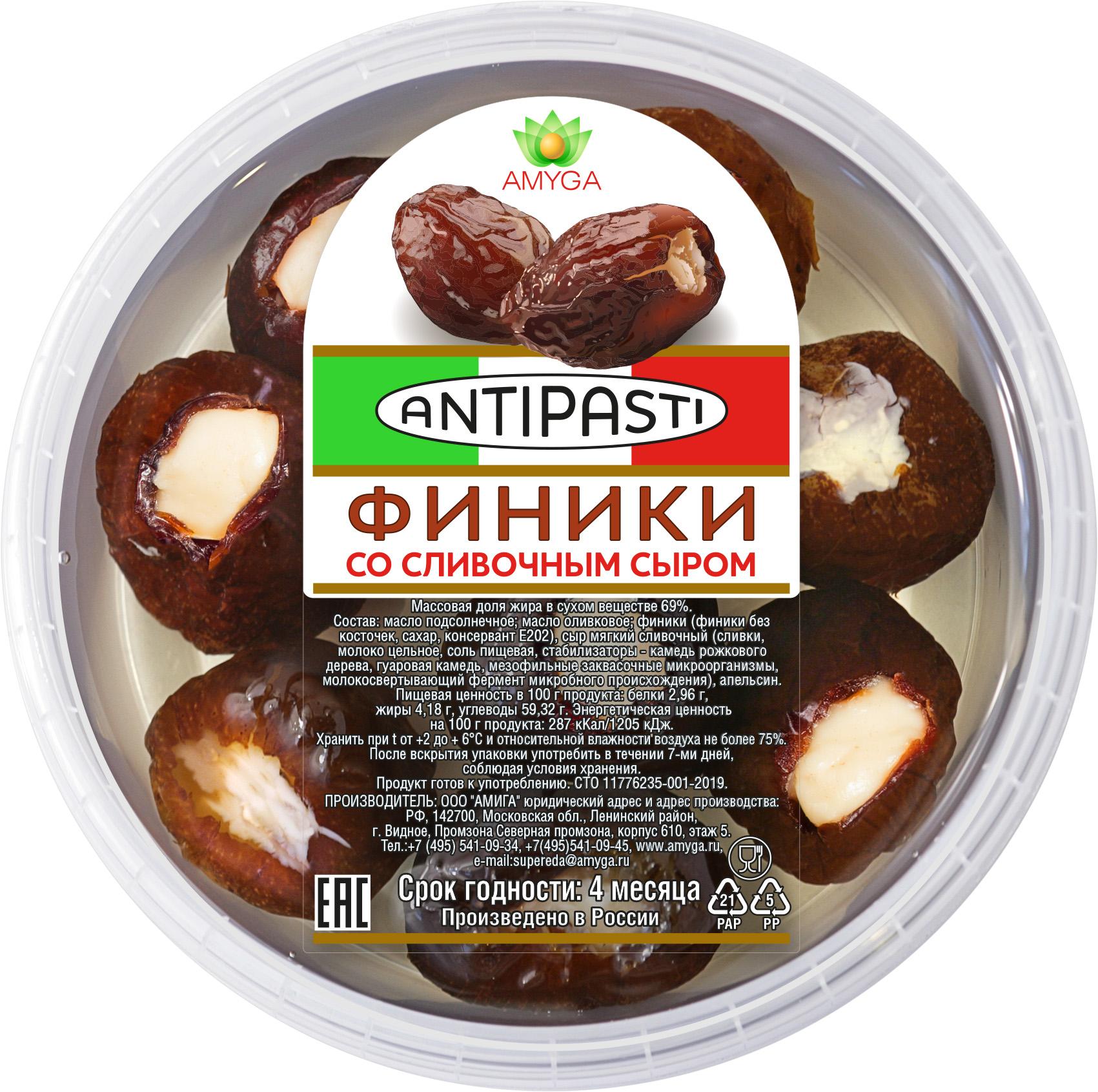 Финикисо сливочным сыром