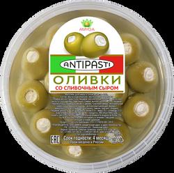 Оливкисо сливочным сыром
