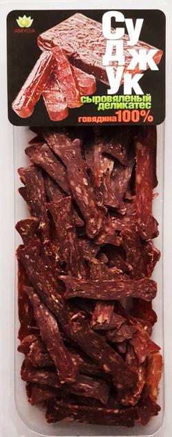 СУДЖУК сыровяленый из мраморной говядины 80г нарезка в МГС