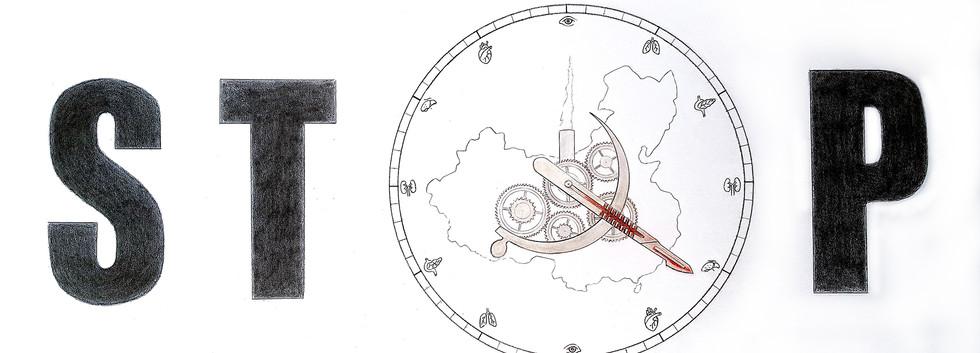 《停止在中國摘取器官的行為》匿名