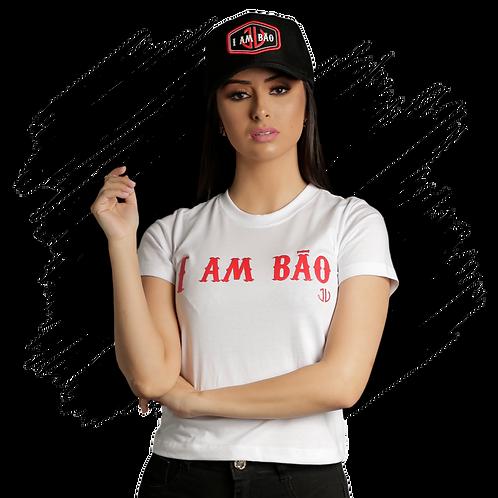 Camiseta Feminina I am Bão