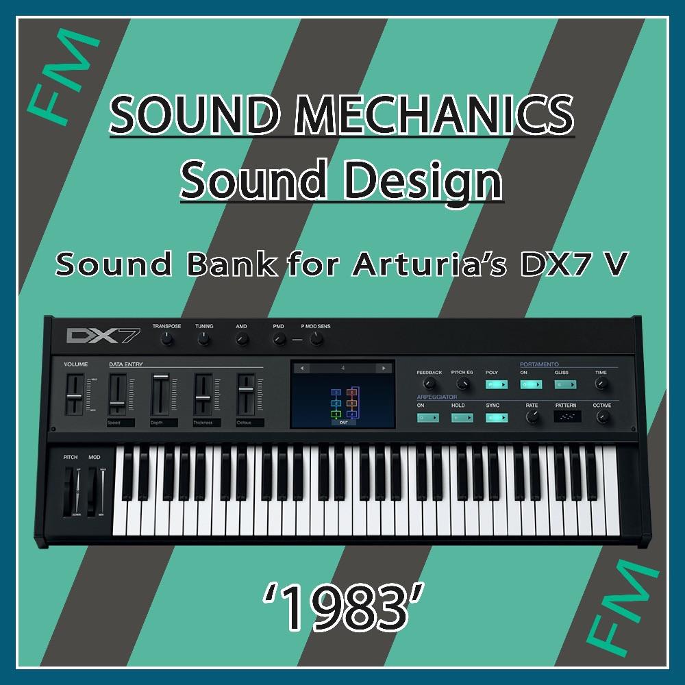 Sound Bank for Arturia DX7 V